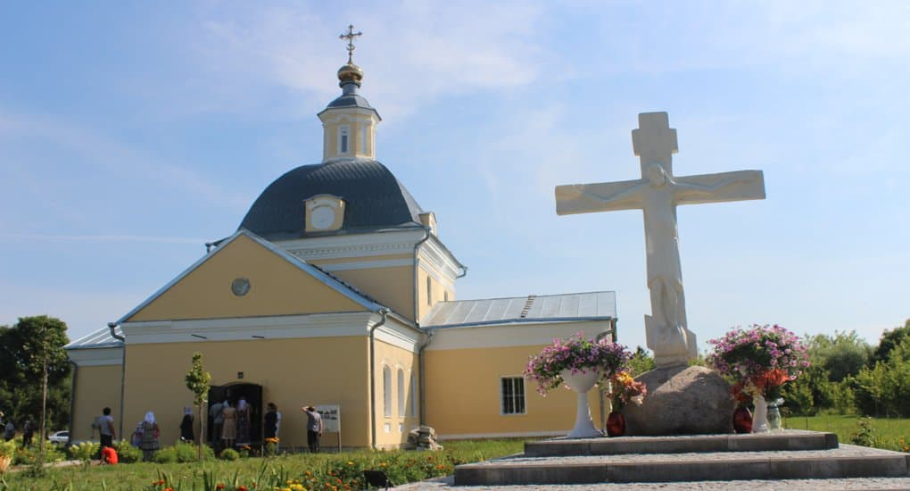 Освящен храм XVII века в Рязанской области