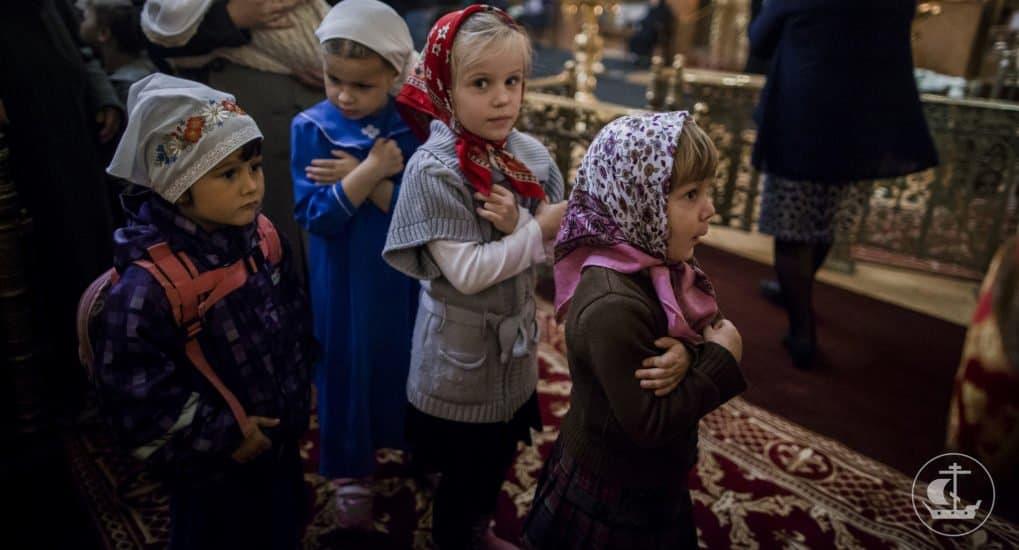 Какие молитвы дети должны прочитывать перед причастием?