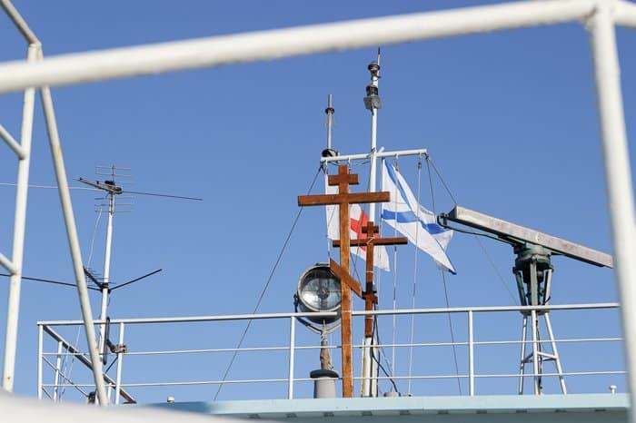 Корабль-церковь снова поплыл на помощь к жителям дальних сибирских селений