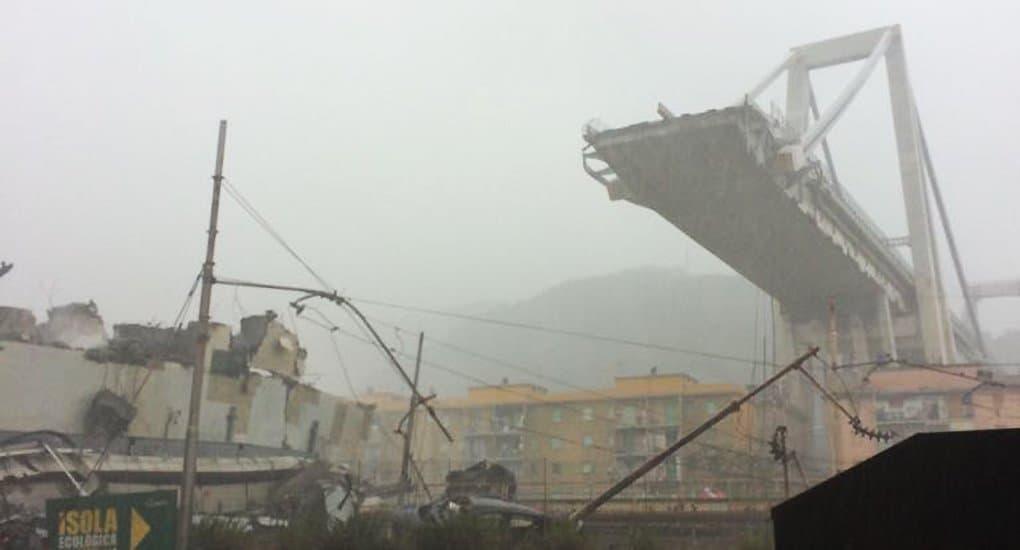 Патриарх Кирилл вместе с итальянцами скорбит о жертвах обрушения моста в Генуе