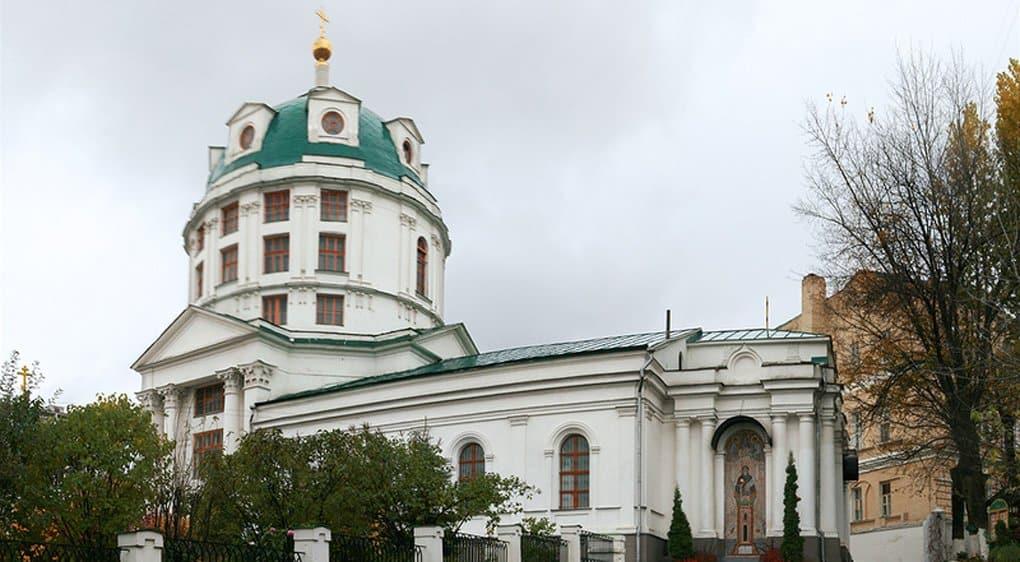 Церкви вернули столичный храм Симеона Столпника за Яузой