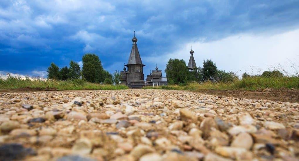 Отреставрированный храмовый комплекс XVIII века освятили в Архангельской области
