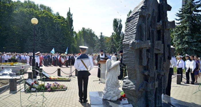 Сотни курян почтили память погибшего экипажа «Курска»