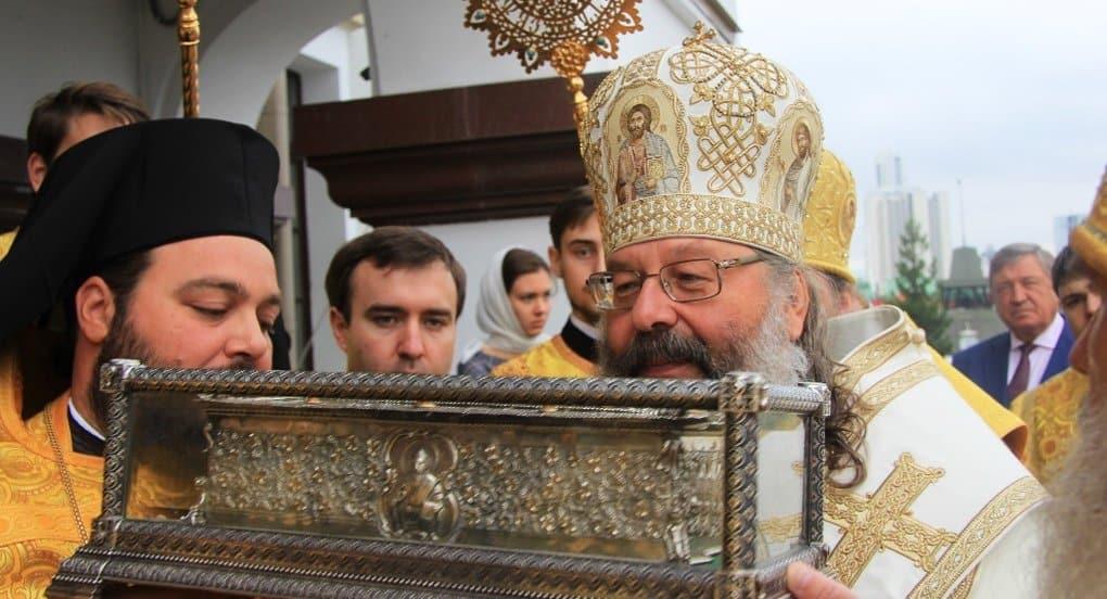 Десницу Спиридона Тримифунтского принесли в Екатеринбург
