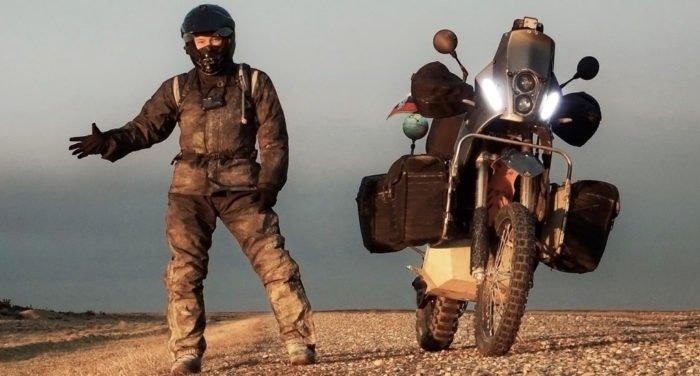 Россиянин установил рекорд, проехав на мотоцикле 200 тысяч километров