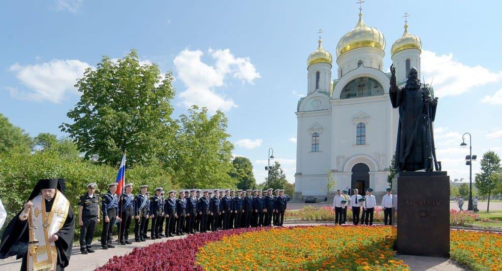 Памятник героям Первой мировой войны открыли в Царском Селе