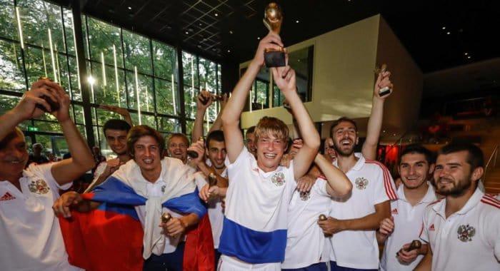 Российские паралимпийцы с ЦП впервые выиграли Чемпионат Европы по футболу