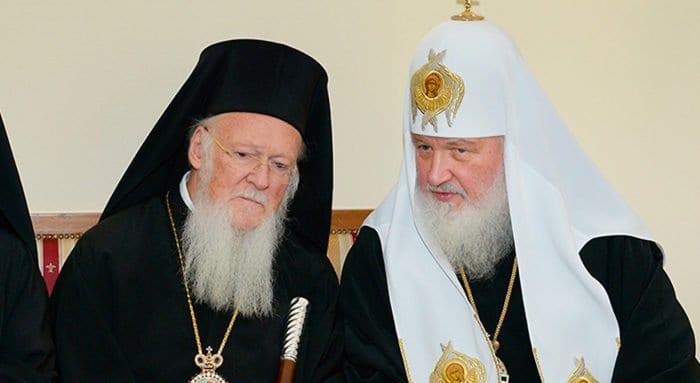 Патриарх Кирилл встречается в Стамбуле с патриархом Варфоломеем