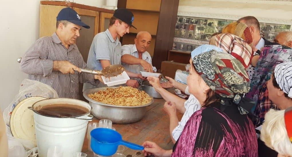 Программу помощи нуждающимся открыла в Таджикистане Русская Церковь