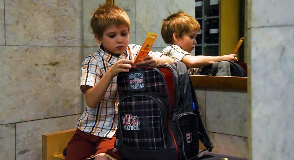 Первоклассники из многодетных семей получили портфели и побывали на экскурсии