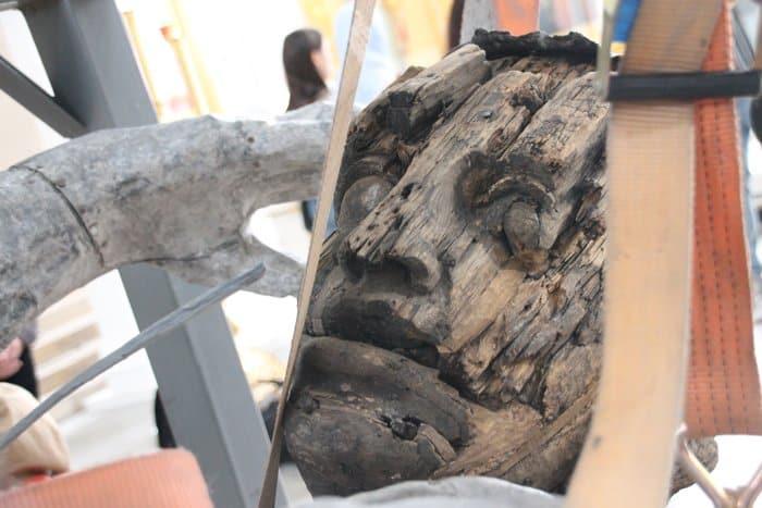 Смольный собор Петербурга собирает артефакты, в него уже перевезли 207-летнюю скульптуру ангела