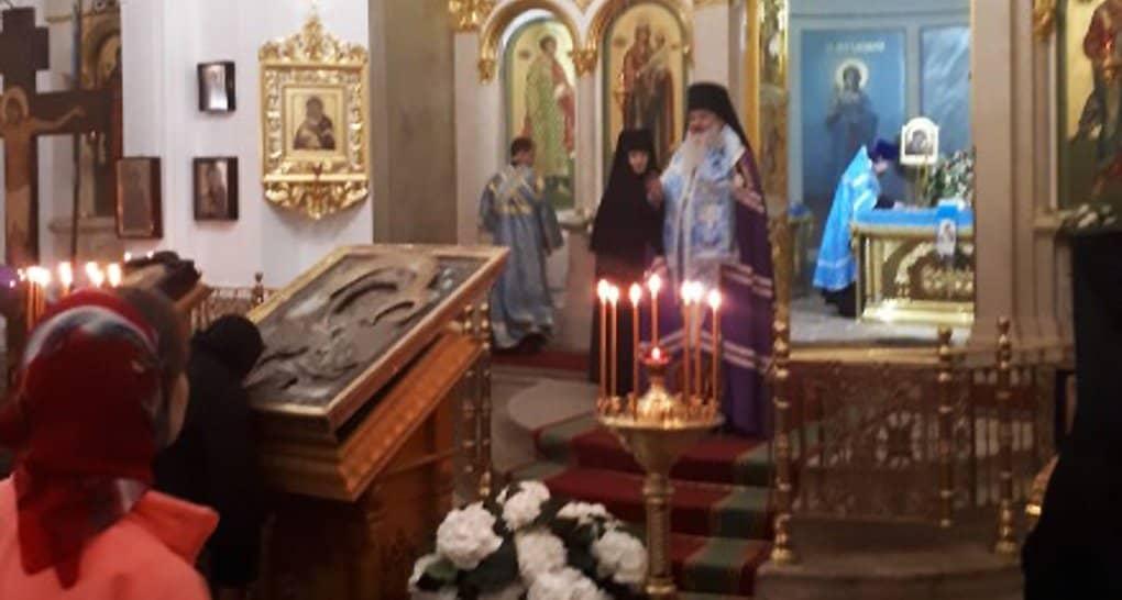 Сын немецкого офицера вернул монастырю в Бородино старинную икону