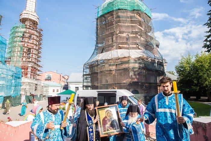 21 августа верующие смогут поклониться в Москве иконе XVIII века из ГИМа