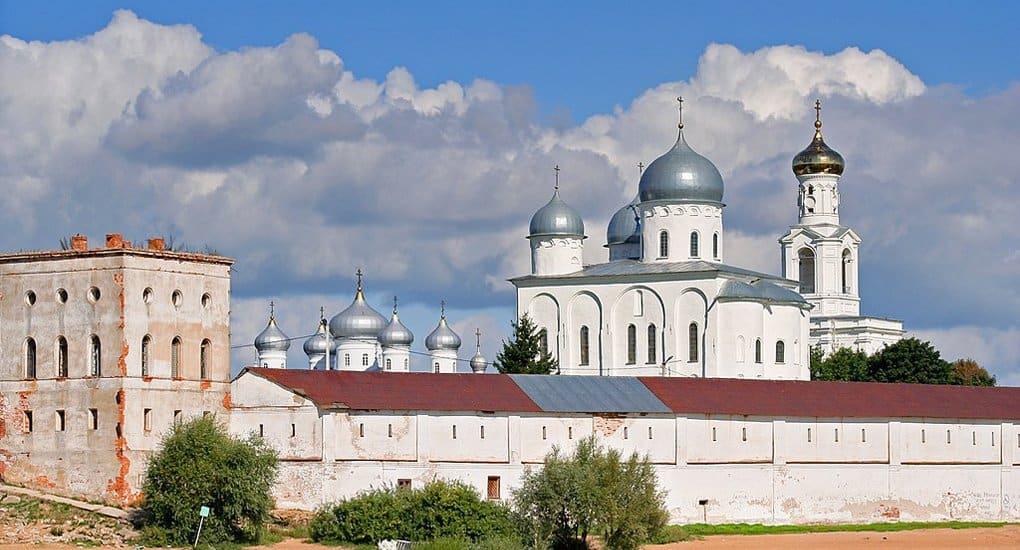 Боярский саркофаг обнаружили в Свято-Юрьевом монастыре Новгорода