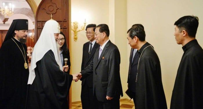 Патриарх Кирилл надеется на восстановление храма в Сеуле