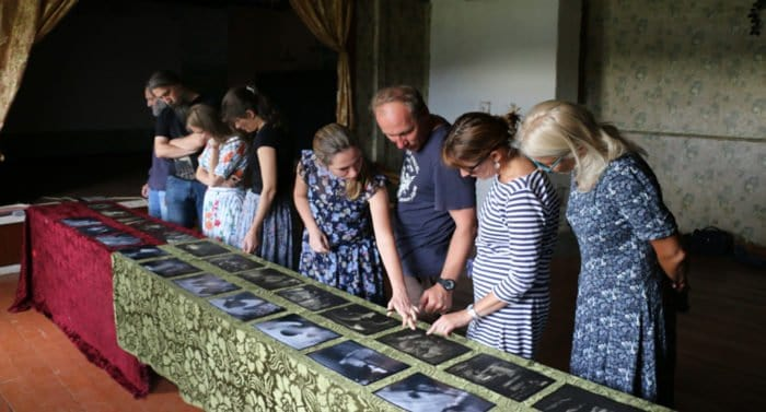 Православные фотографы собрались в деревне Родня