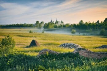 Утренняя сказка Ошевенска