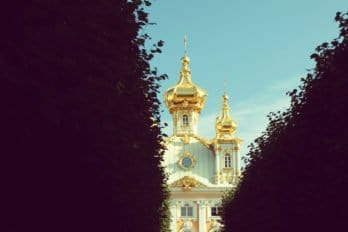 Храм Воскресения Христова в Екатерининском дворце, Царское село. Фото Елизаветы Костаревой