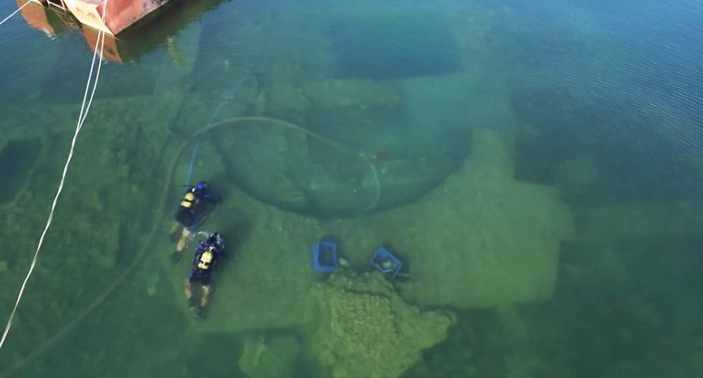 На дне озера в Турции нашли остатки храма, в котором мог проходить I Вселенский Собор