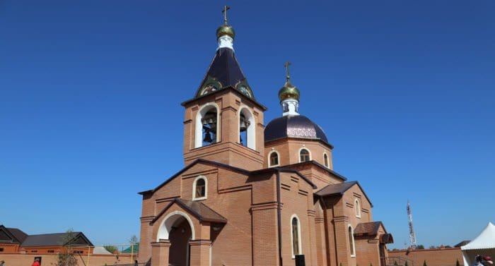 В чеченской станице, отмечающей 300-летие, открыли храм святой Варвары