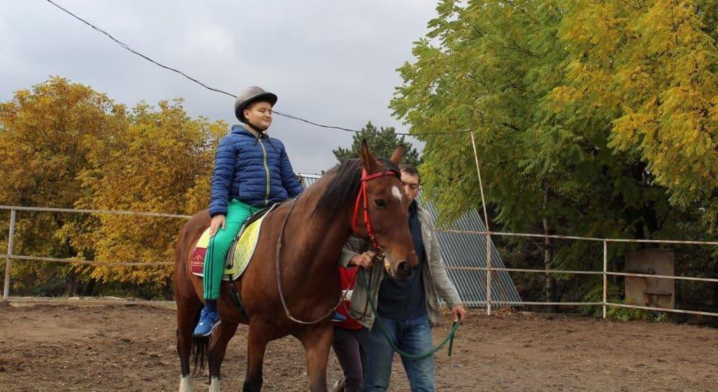 Центр лечебной верховой езды для детей открыла Церковь в Кабардино-Балкарии