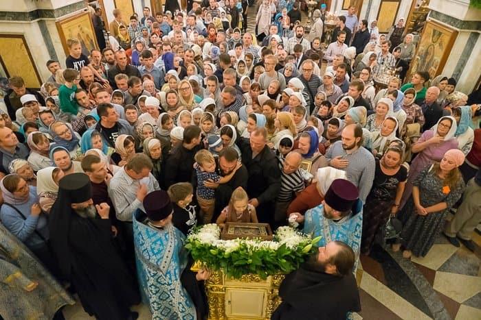 До 3 октября в Курске пребывает Курская-Коренная икона Богородицы