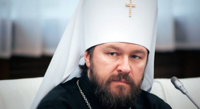 Константинополь утратил право именоваться координирующим центром православия, - митрополит Иларион