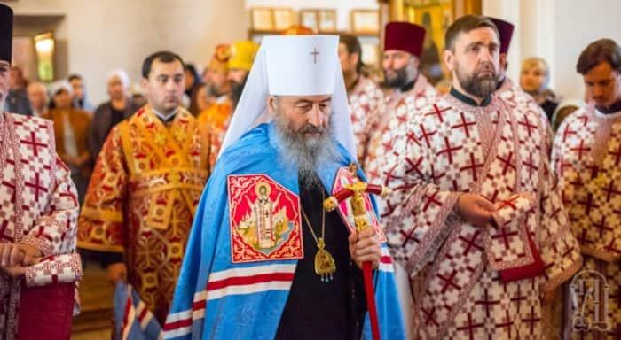 Митрополит Киевский Онуфрий отказался встречаться с «экзархами» от Константинополя