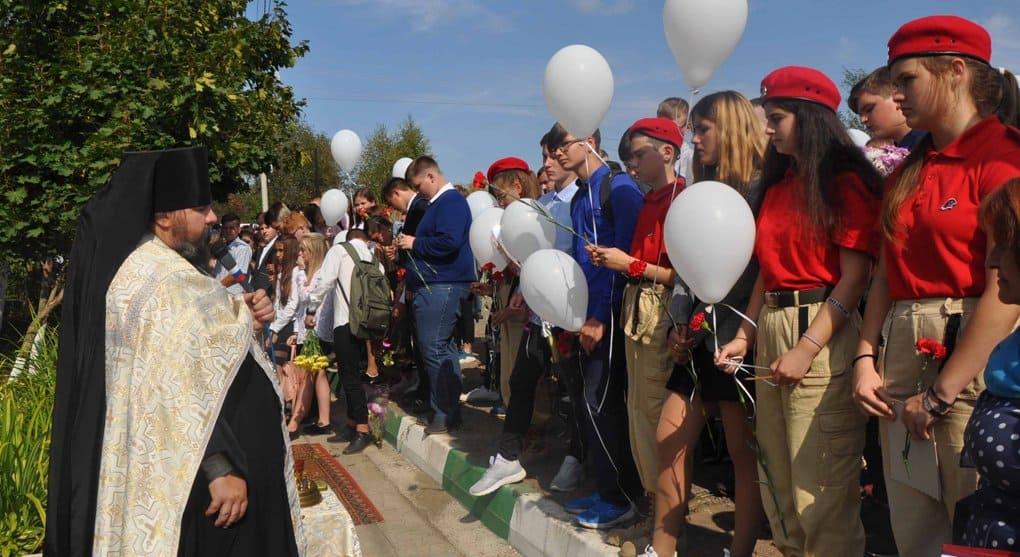 Память погибших в Беслане детей почтили в Муранове