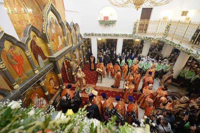 Патриарх Кирилл освятил в Норильске храм в честь новомучеников