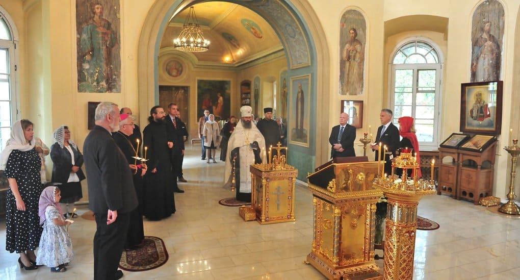 В храме святой Екатерины на Всполье помолились о жертвах терактов в США в сентябре 2001-го