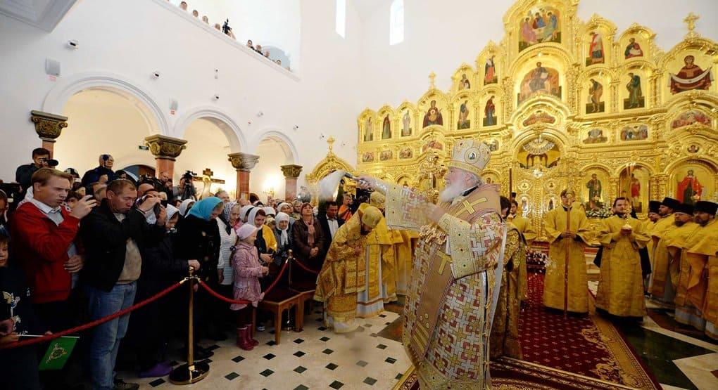 Патриарх Кирилл освятил в Когалыме храм мученицы Татианы
