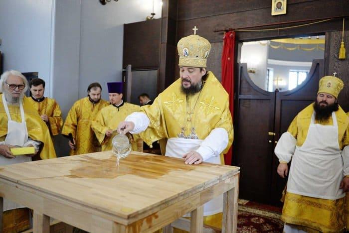 Патриарх Кирилл освятил храм Иннокентия Московского в Бескудникове
