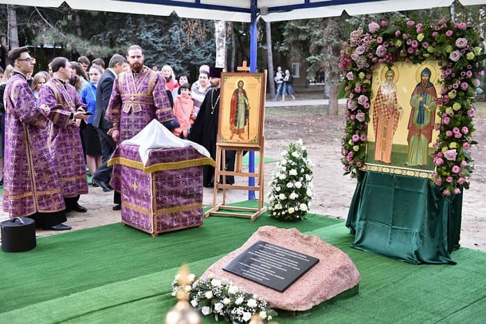 Патриарх Кирилл заложил храм при Кубанском госуниверситете