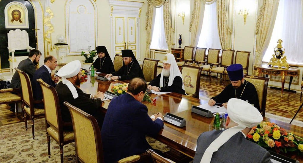В примирении сирийцев должны участвовать и мусульмане, и православные, - патриарх Кирилл