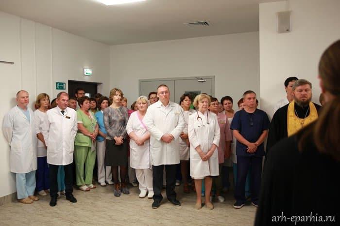 В Архангельске освятили новый перинатальный центр, в котором будут выхаживать детей
