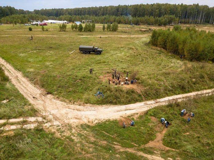 Останки 10 советских солдат нашли за два дня поисков подо Ржевом
