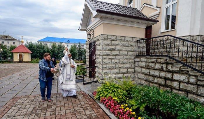 В Салавате освятили отреставрированный главный собор города