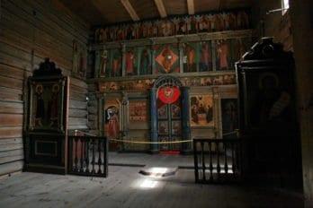 Троицкая церковь 1551 г., остров Свияжск. Фото инокини Ксении Беловой