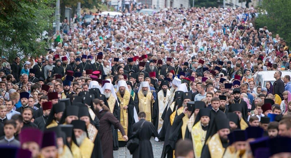 За год в Украинской Православной Церкви стало больше монастырей и приходов