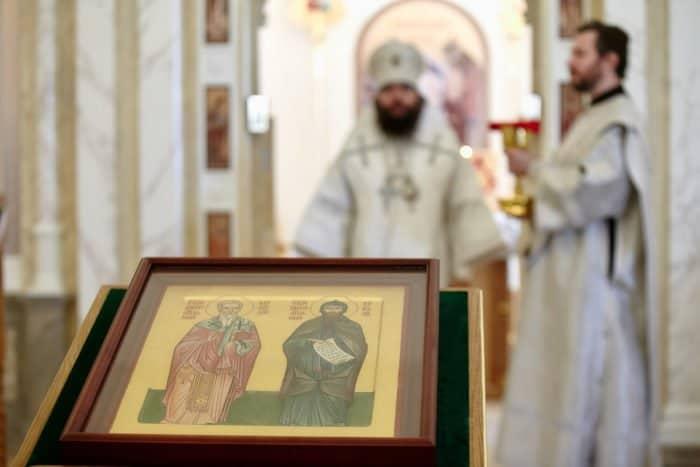 Второй храм при МГУ был освящен в честь святых Кирилла и Мефодия - фото 3