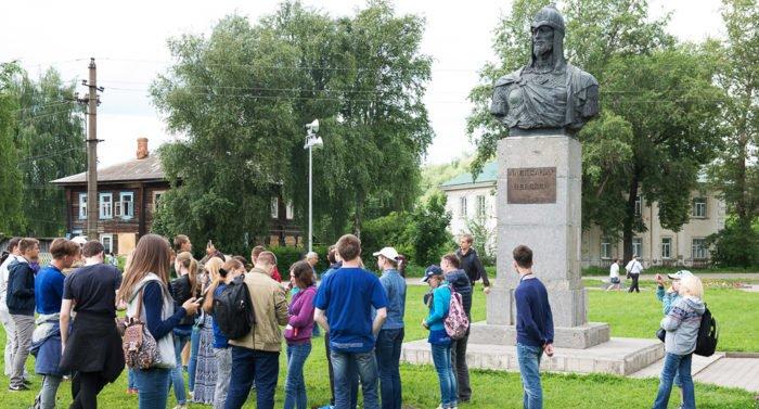 Под Ярославлем открылся форум «Александрова гора» в честь святого князя Александра Невского