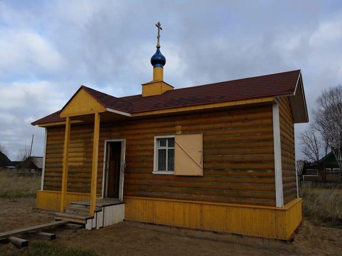 В поморской Кулосеге совершили первую в истории поселка Литургию