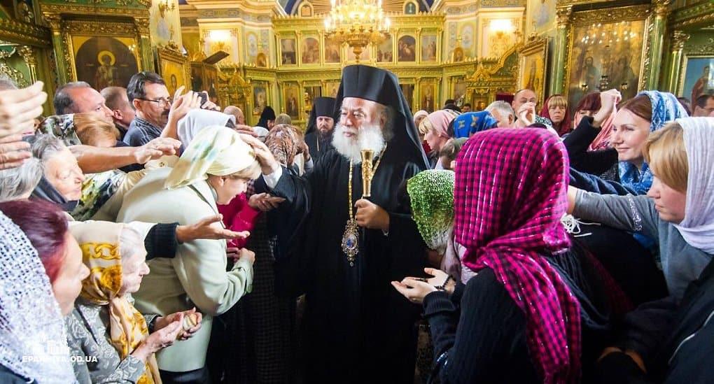Патриарх Феодор II обещал рассказать главам всех Поместных Церквей о ситуации на Украине