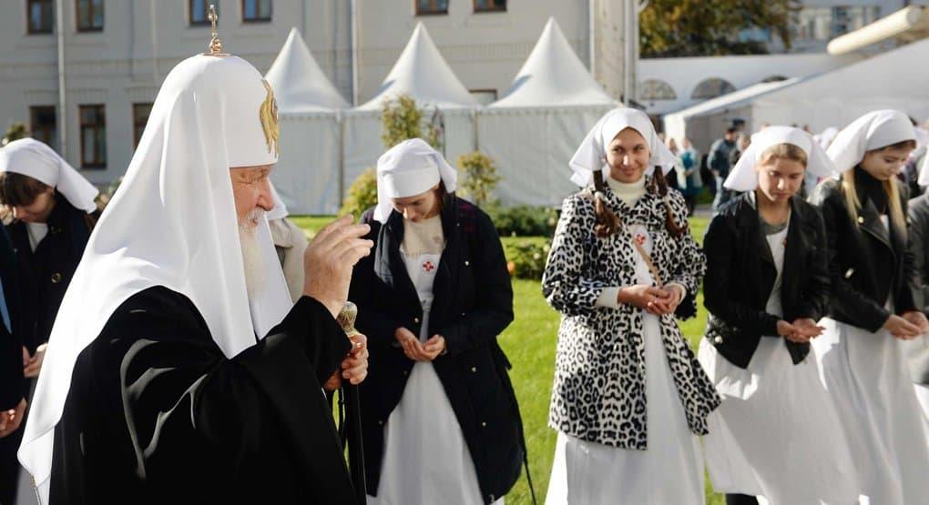 Будем молить святую Елизавету Федоровну, чтобы хоть частично повторить ее дела милосердия, - Патриарх