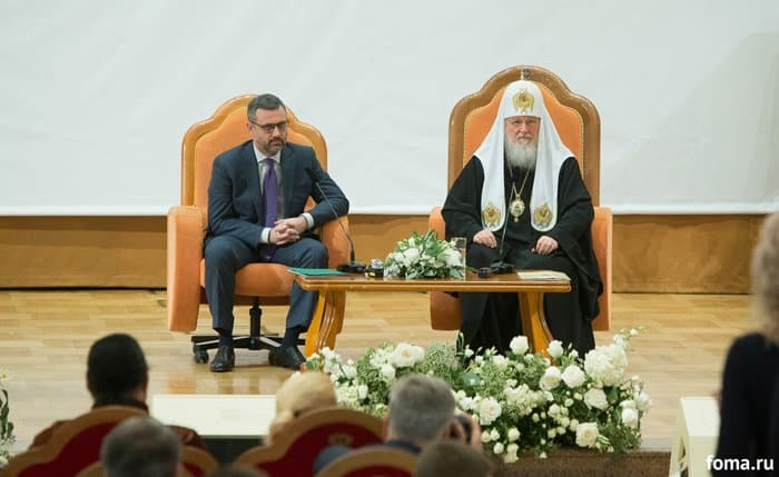 Патриарх напомнил, что цель информационной миссии Церкви – не победа над оппонентом, а рассказ миру о Христе