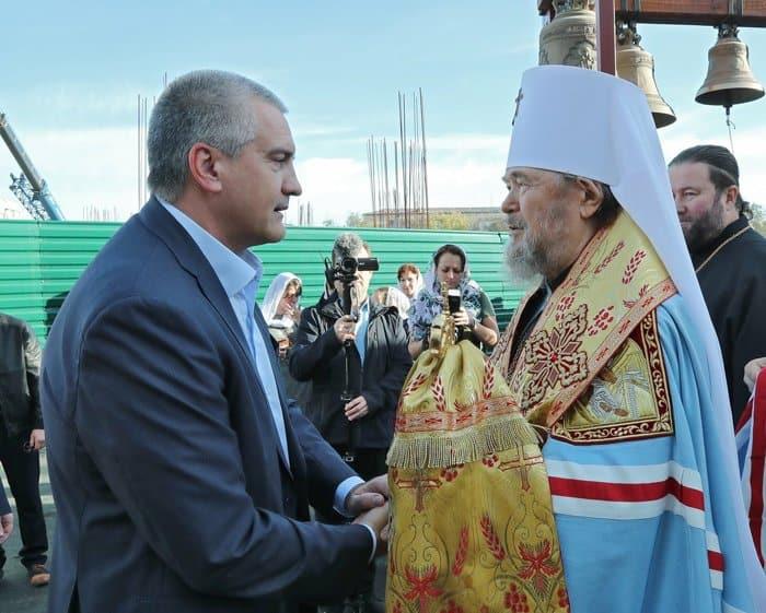 Спустя более 10 лет в Симферополе возобновили строительство храма святой Екатерины