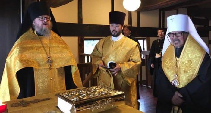 В первом православном монастыре Японии отслужили благодарственный молебен