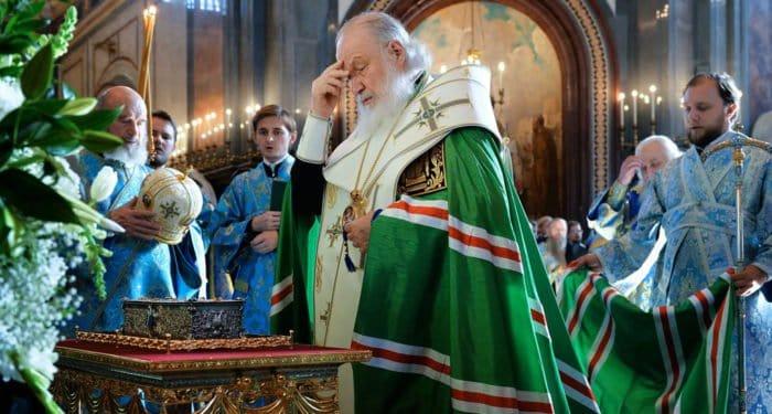 Патриарх Кирилл прибыл в Калининград с мощами святого Луки Крымского