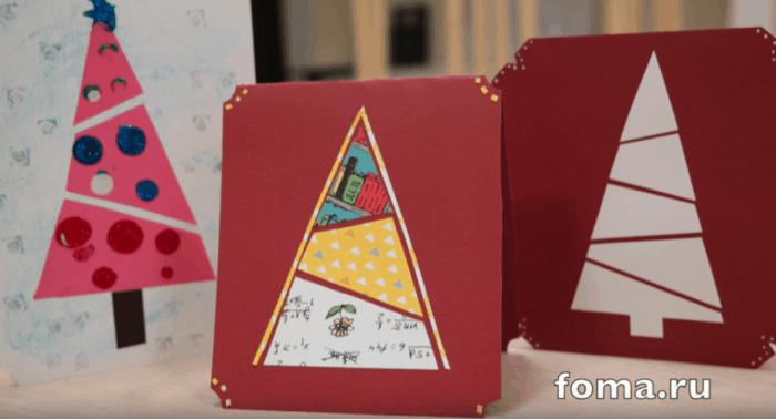 Рождественские поделки-подарки от